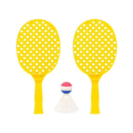 SET SHUTTLEBALL - uso exclusivo con supervolante o pelota foam-