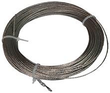 METRO LINEAL CABLE PARA RED DE PROTECCION 6 MM (MULTIPLOS DE 25 MTS)