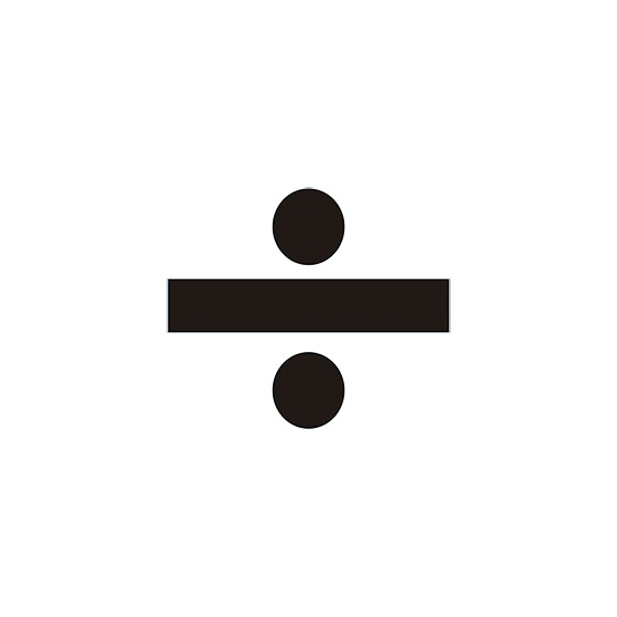 VINILO DIVISION PARA CONO (MEDIDA 11,40 X 9,70 CM) BLANCO